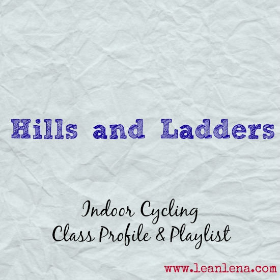 Hills and Ladders – Indoor Cycling Class Profile