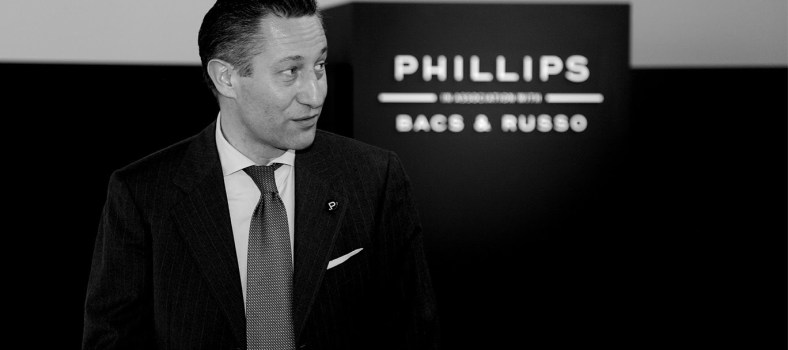 Phillips' timepiece maestro, Aurel Bacs | Photo Credit: Pucci Papaleo