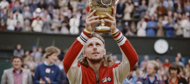 Bjorn Borg, Fila-sponsored;1978 Wimbeldon |Photo: Getty Images