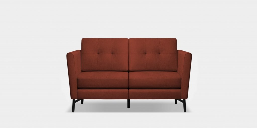 Burrow loveseat in red | Burrow
