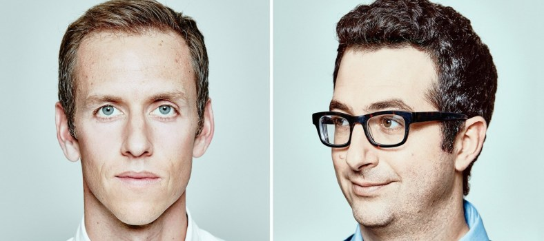 Harry's co-founder Andy Katz-Mayfield, left, is resolute; Jeff Raider; right. | Inc.