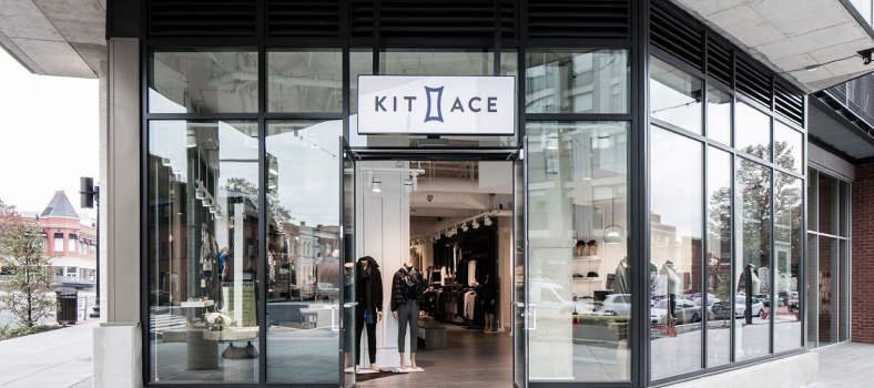 The now closed Kit and Ace showroom in Washington, DC | Kit and Ace