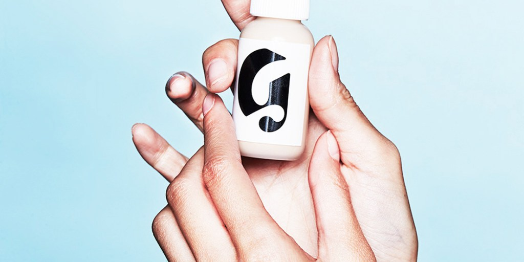 Pastels and Gen Y branding | Glossier