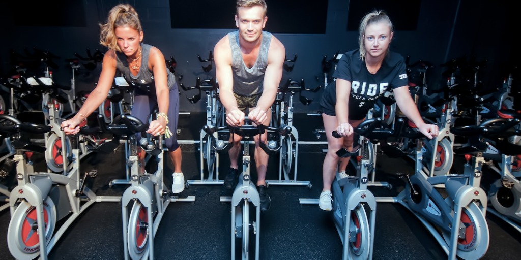 Wilson at his newest venture, Ride Cycle Club | Business Vancouver