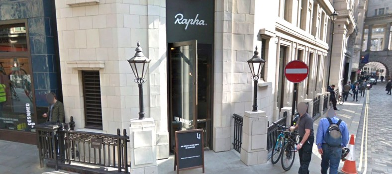 Rapha, soon to be sold to the highest bidder | Google