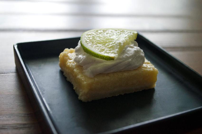 Key Lime Bars (paleo, dairy & gluten free)
