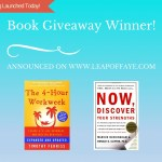 And the Winner of the Blog Launch Book Giveaway is…