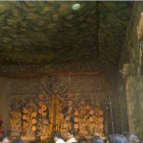 Milani Durga Puja 2011-Ajanta Cave Interior