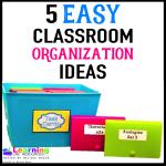 Classroom Organization Tips