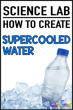 Learn how to create supercooled water using only a water bottle and a freezer..