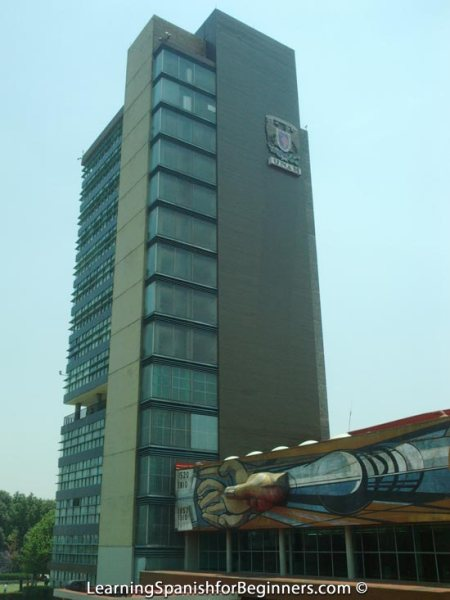 Mexico City - UNAM - Edificio de Rectoria 1