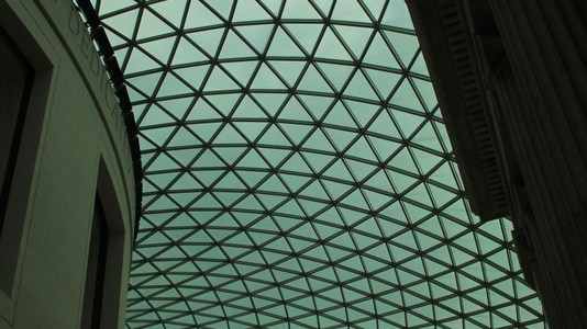 Ceiling at the British Museum (Photo Post)