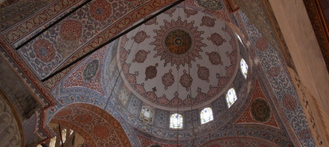 Sultan Ahmed Ceiling (Photo Post)