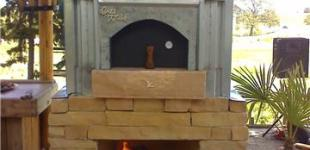 Greywolf Winery Pizza Oven
