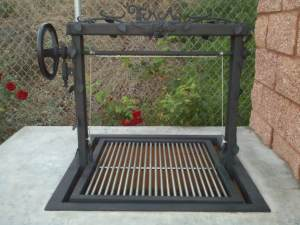 """""""The iron deco leaves really gave this grill a unique custom look."""""""