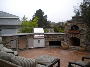 Custom Outdoor Kitchen & LC Oven Designs Pizza Oven. – Leasure Concepts