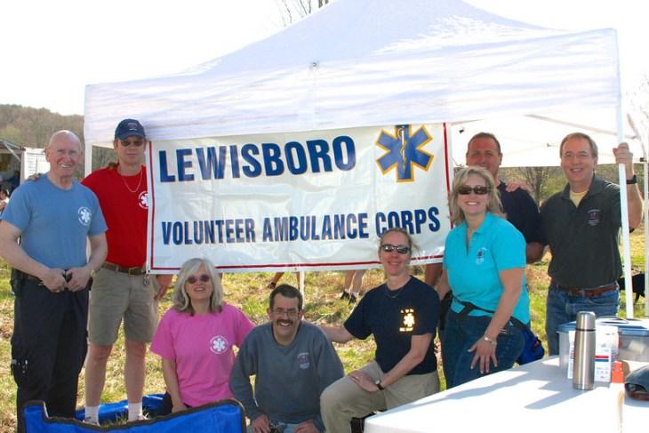 Lewisboro Volunteer Ambulance Corps in 2011 (photo by Carol Gordon)