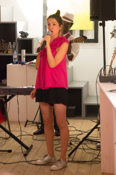 Lea Van Sky in Concert at the Entrepot Gallery, Nice