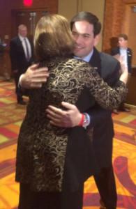 Fischer & Rubio in Omaha, November 2015.
