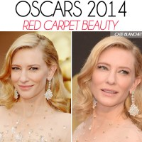 The Oscars 2014: Red Carpet Hair & Makeup