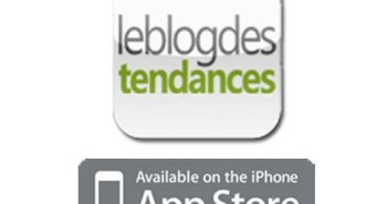 application le blog des tendances