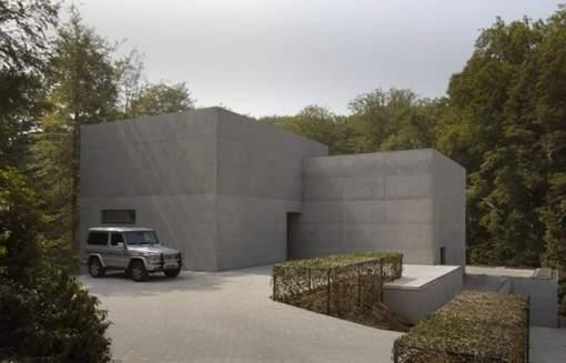 maison d'Arthur en Belgique