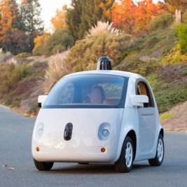 voiture sans chauffeur intérieur Google Car