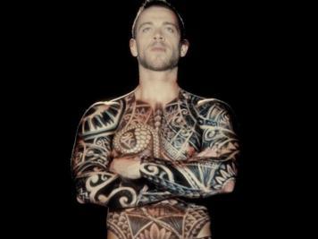 tatouage animé body art