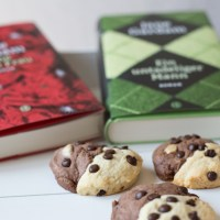 Die Kekse zum Buch: Marble Cookies