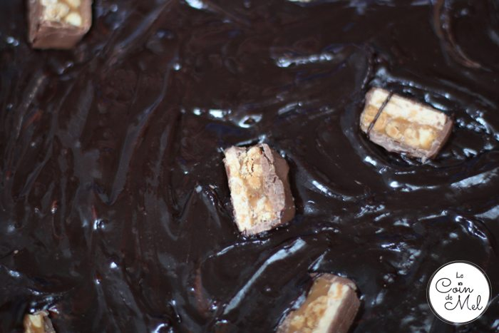 Nigella Lawson's Everyday Brownies with Snickers