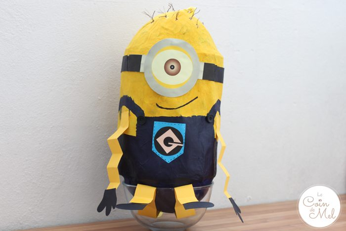 Make Your Own Minion Piñata (Despicable Me)