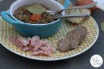 Petit Salé aux Lentilles – Green Lentil Stew