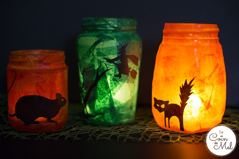 Upcycled Halloween Lanterns - 10 Minute Crafts