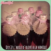 DIY spécial Noël: huile d'olive à la vanille