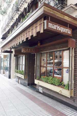 Le célèbre restaurant Casa Rafa