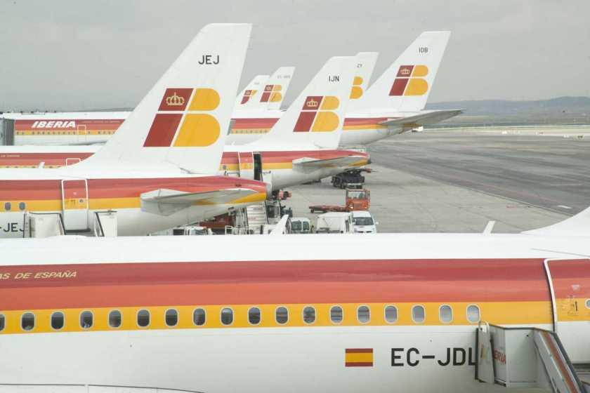 Iberia à Madrid Barajas