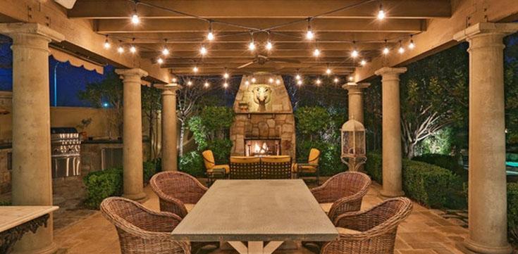 O Best Outdoor LED String Lights