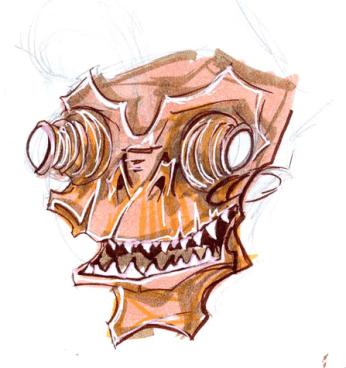 Zilombo sketch 1