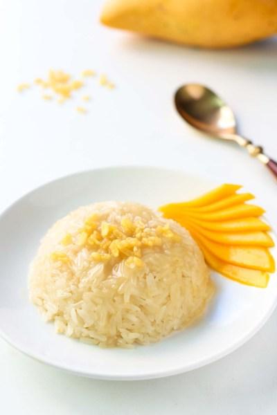 Thai Mango Sticky Rice Dessert Recipe – LeelaLicious