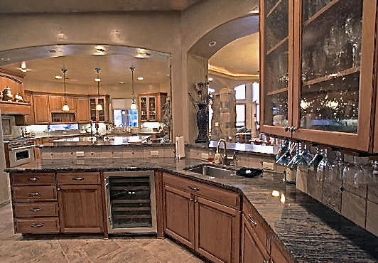 north valley rv home kitchen bar
