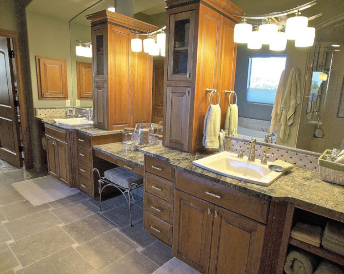 north valley rv home master bath