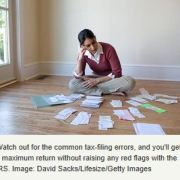 common homeowner tax errors