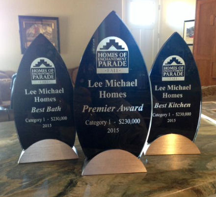 parade of homes awards 2015