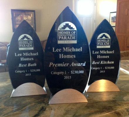 parade of homes awards 2015
