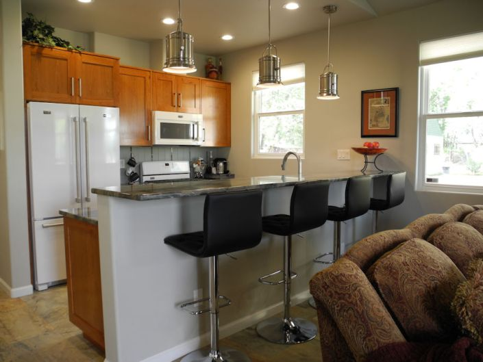 north valley casita custom home kitchen
