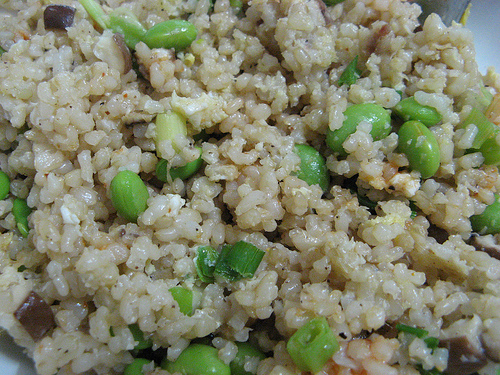 coconut anchovy fried rice