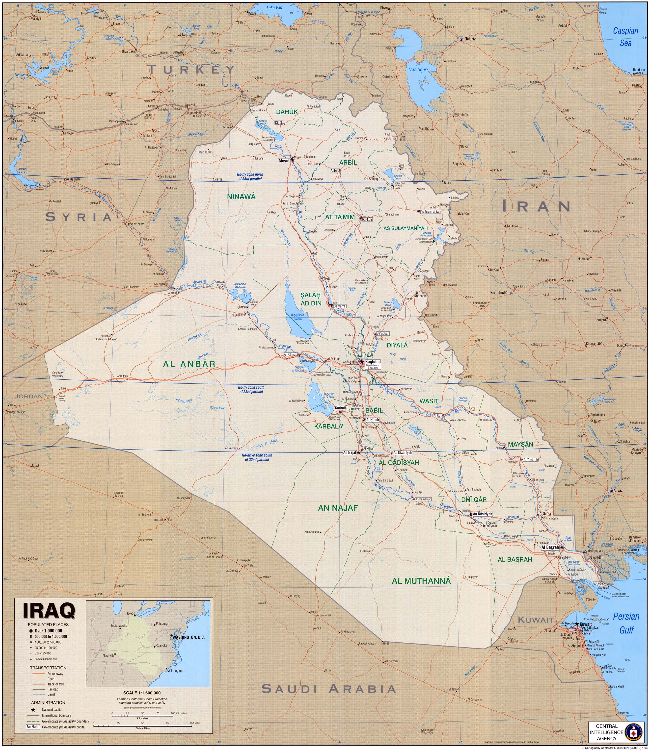 Iraq Maps   Perry Casta    eda Map Collection   UT Library Online Iraq Maps