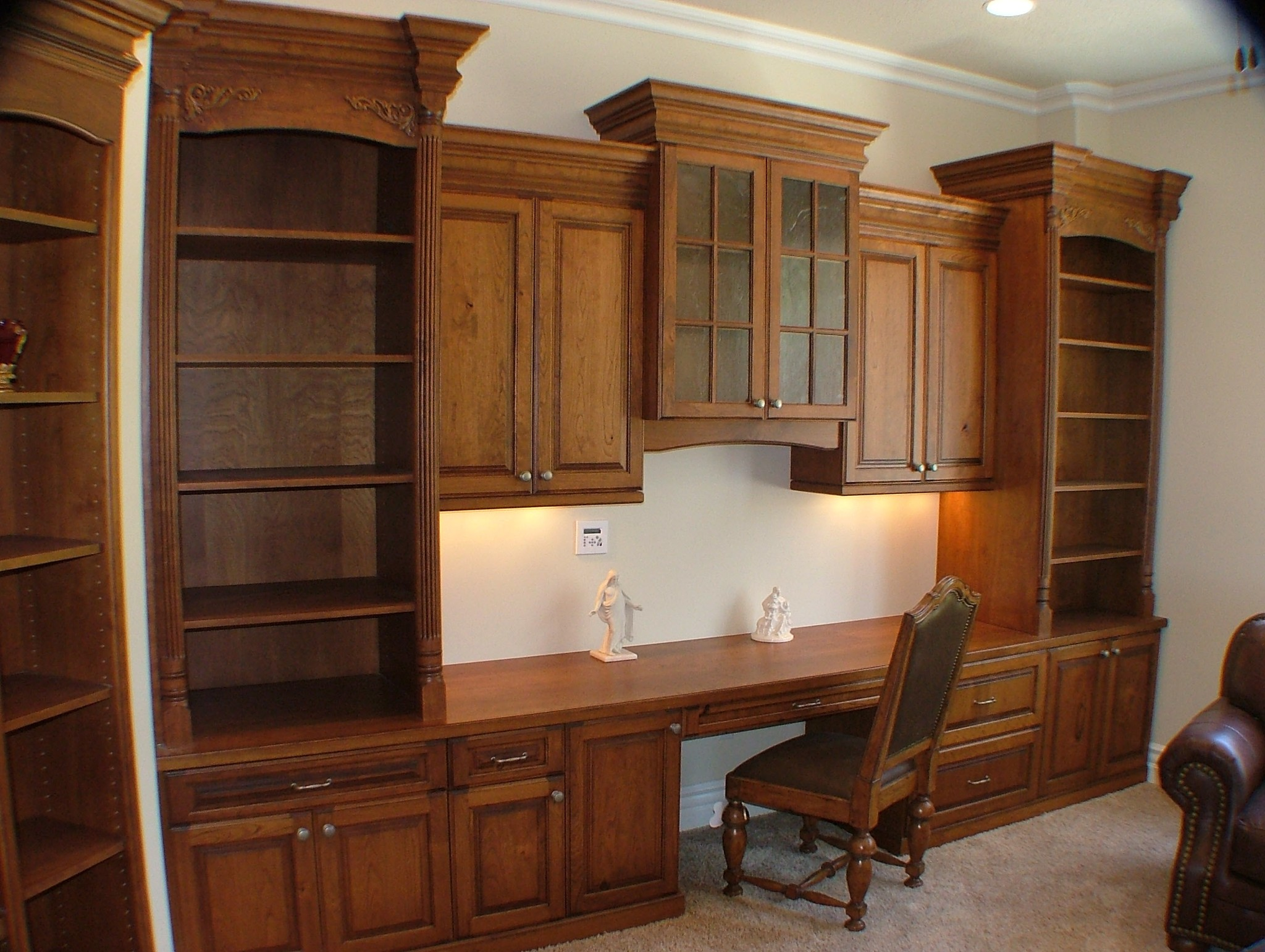 Entertainment Center Legacy Mill Cabinet
