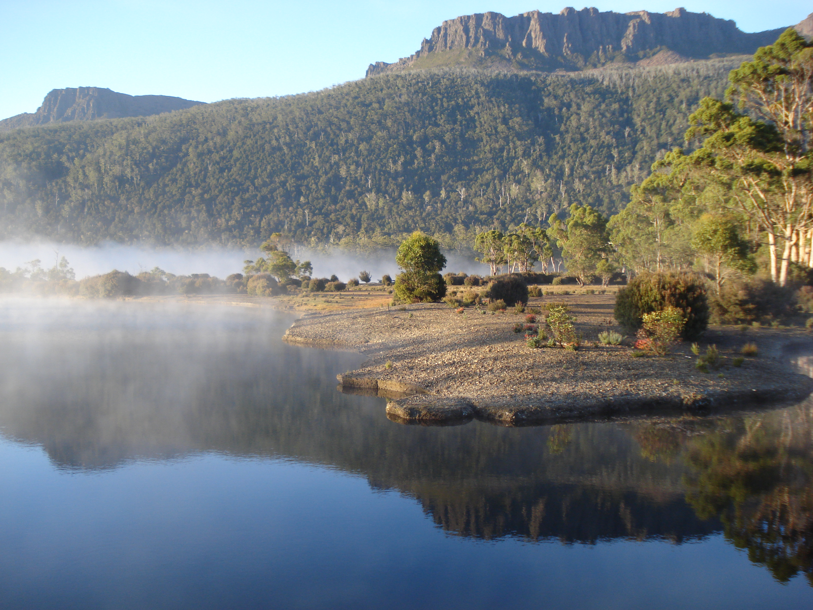 On the Tasmanian Overland Track