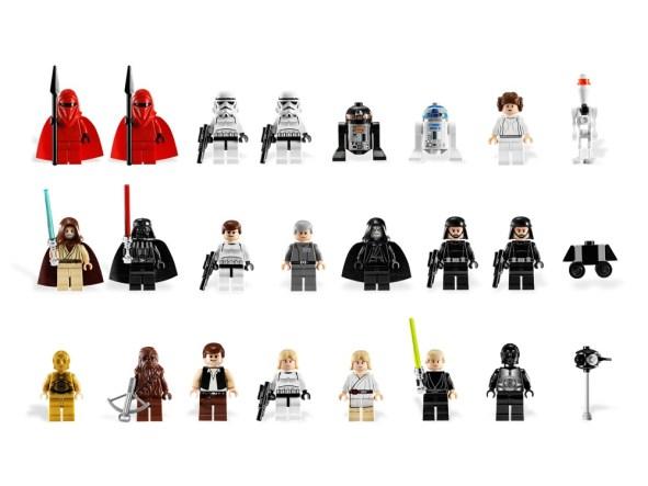 Lego 10188 Minifigures